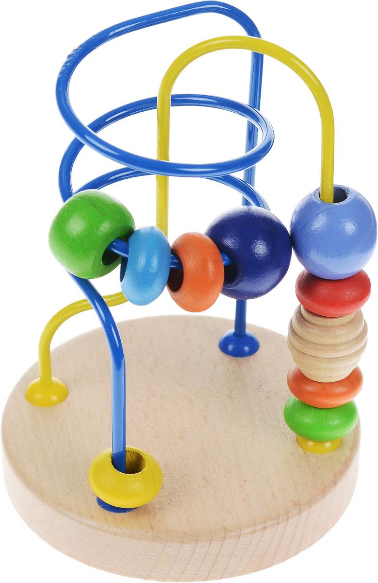 Мир деревянных игрушек Лабиринт №5 мир деревянных игрушек лабиринт каталка бабочка малая