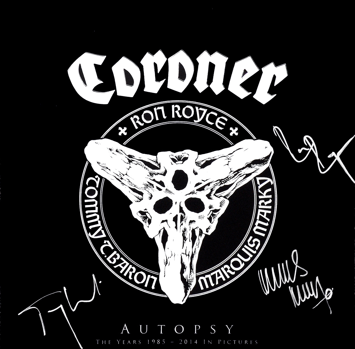 Coroner Coroner. Autopsy (LP + 3 Blu-ray) autopsy autopsy tourniquets hacksaws and graves