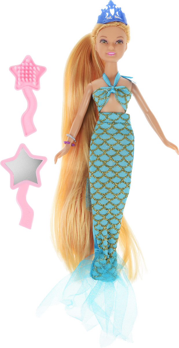 Defa Кукла Lucy Русалка цвет одежды голубой кукла defa lucy принцесса 8182