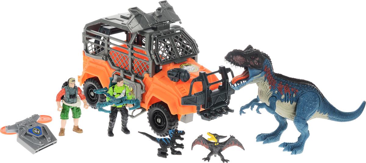 Chap Mei Игровой набор Большая охота на Тиранозавра chap mei игровой набор акванавт на скутере