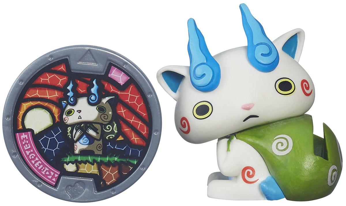 Yo-kai Watch Фигурка Komasan с медалью yo kai watch мягкая игрушка walkappa 16 см