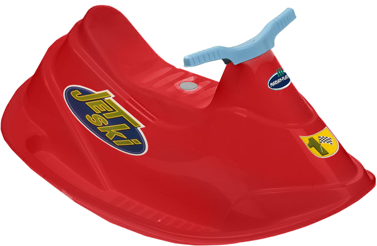 PalPlay Качели Водный мотоцикл цвет красный - Ходунки, прыгунки, качалки