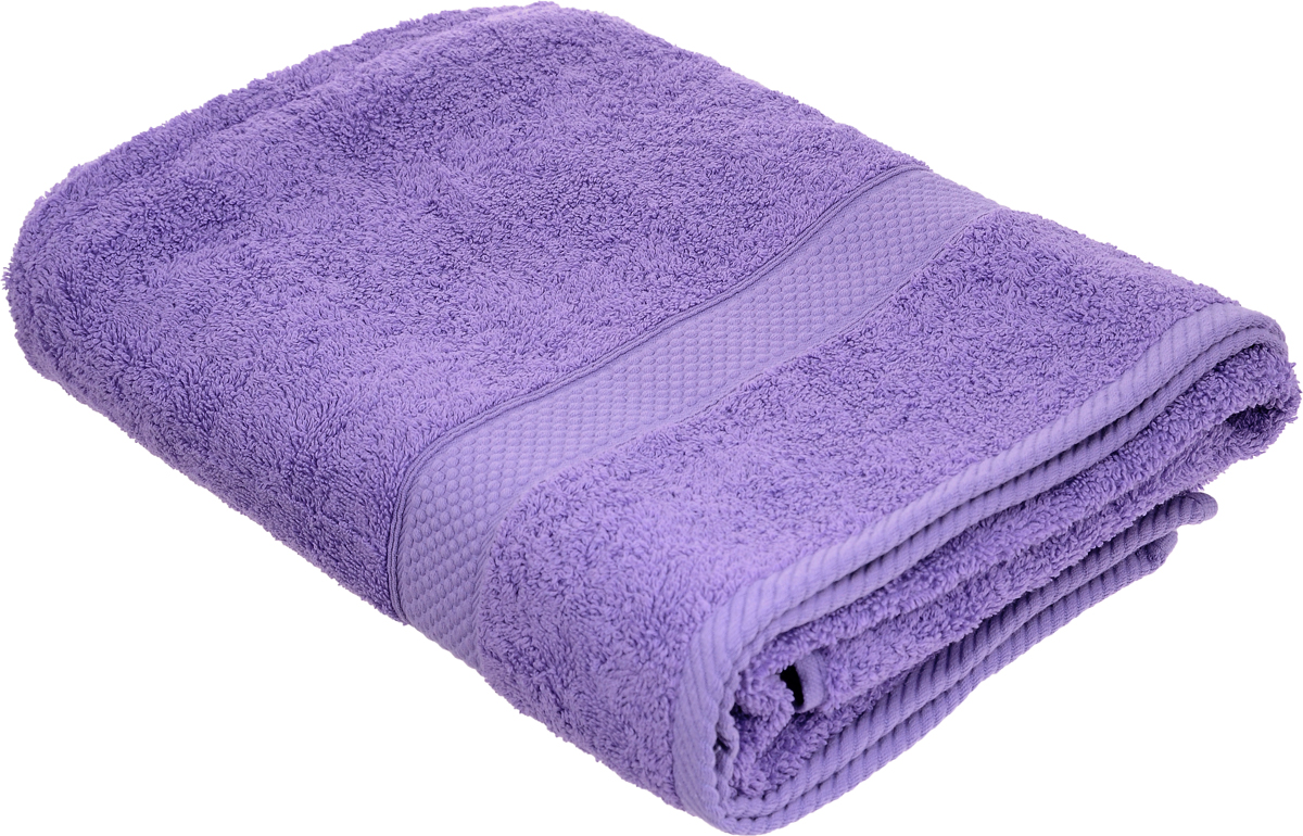 Полотенце Arya Miranda, цвет: лиловый, 70 х 140 см полотенца банные arya полотенце arya maxi crest