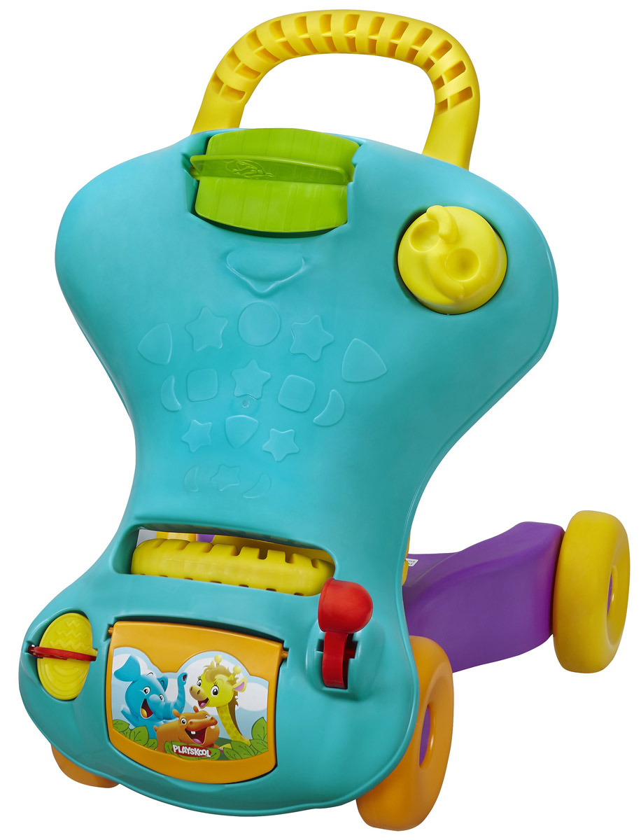 Playskool Ходунки-каталка цвет голубой
