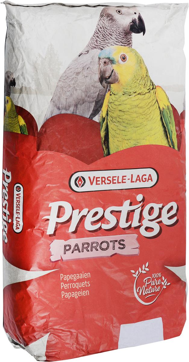 Корм Versele-Laga Prestige Parrots для крупных попугаев, 15 кг корм вака люкс для крупных попугаев 800 гр