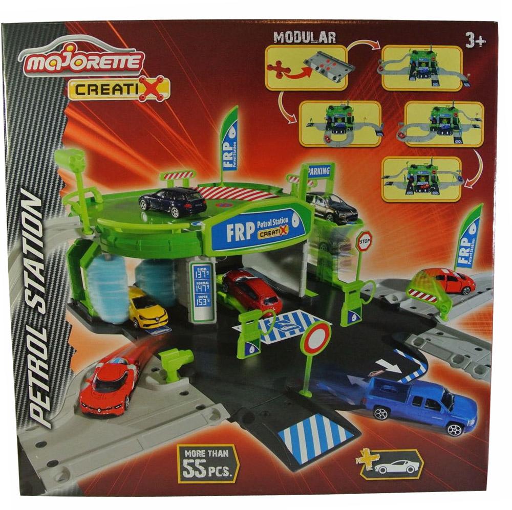 Majorette Игровой набор Заправочная станция Creatix машины majorette парковка пожарная станция cratix вертолет машинка