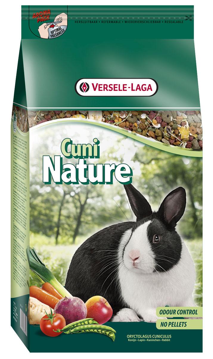 Корм Versele-Laga Nature Cuni, для кроликов, 2,5 кг versele laga корм для грызунов versele laga crispi cavia для морских свинок 0 4 кг