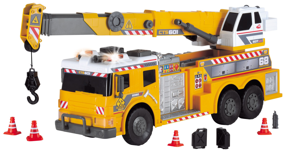 Dickie Toys Автокран на дистанционном управлении dickie кран 120 см на дистанционном управлении 3462412