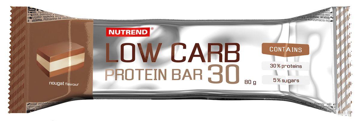 Протеиновый батончик Nutrend Low Carb Protein bar 30, 80 г, nougat