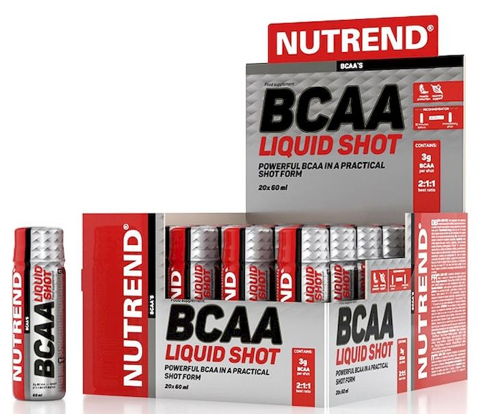 Аминокислотный комплекс Nutrend BCAA LIQUID SHOT, 20 x 60 мл