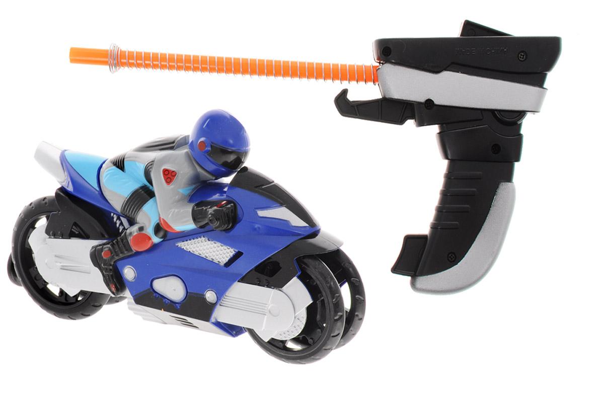 Big Motors Мотоцикл Гонщик цвет синий