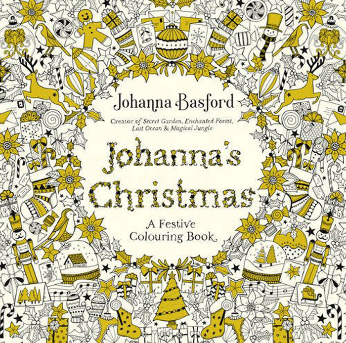 Johanna's Christmas: A Festive Colouring Book the usborne terrific colouring and sticker book