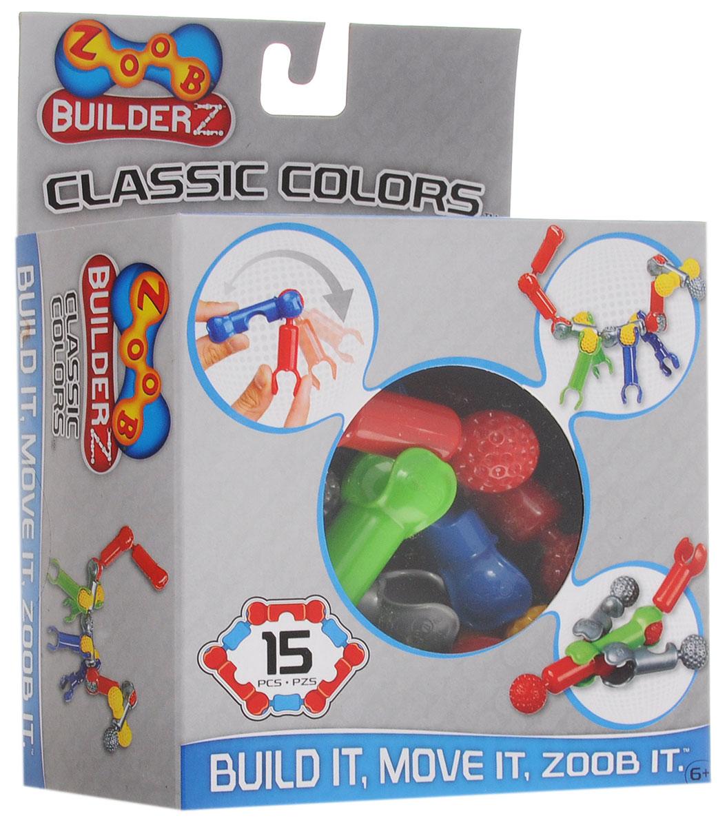 Zoob Конструктор Classic Colors 11015 конструкторы zoob подвижный конструктор zoob с инерционным механизмом oz12055