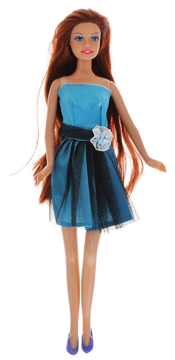Defa Кукла Lucy цвет платья голубой черный куклы дефа люси