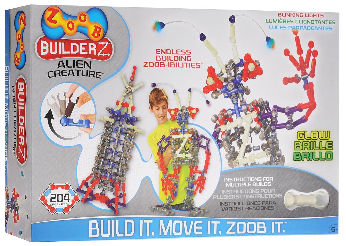 Zoob Конструктор Alien Creature конструкторы zoob подвижный конструктор zoob с инерционным механизмом oz12055