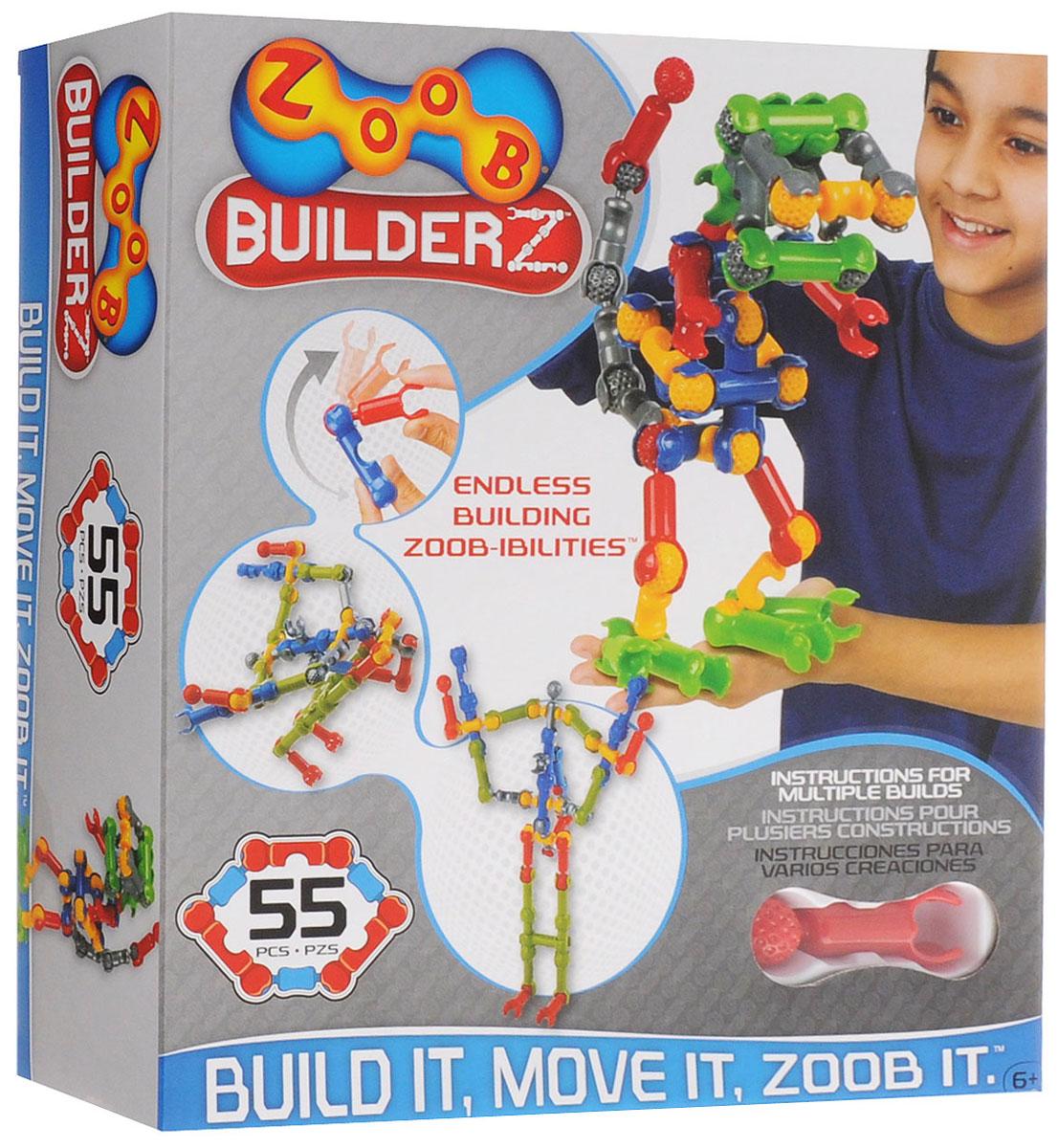Zoob Конструктор 11055 конструкторы zoob подвижный конструктор zoob с инерционным механизмом oz12055