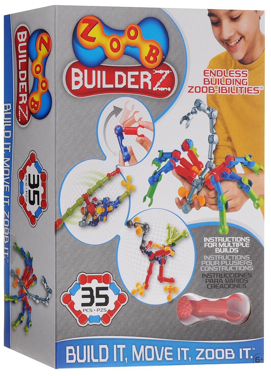 Zoob Конструктор 11035 конструкторы zoob подвижный конструктор zoob с инерционным механизмом oz12055