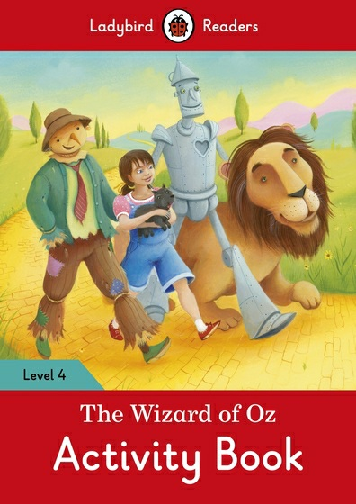The Wizard of Oz: Activity Book: level 4 young learners english practice tests flyers dvd rom