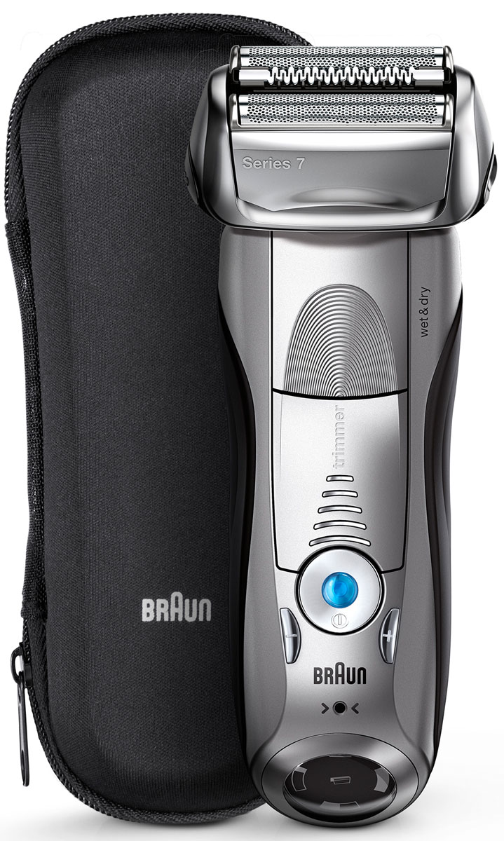 Braun Series 7 7893s Wet&Dry, Grey электробритва - Бритвы