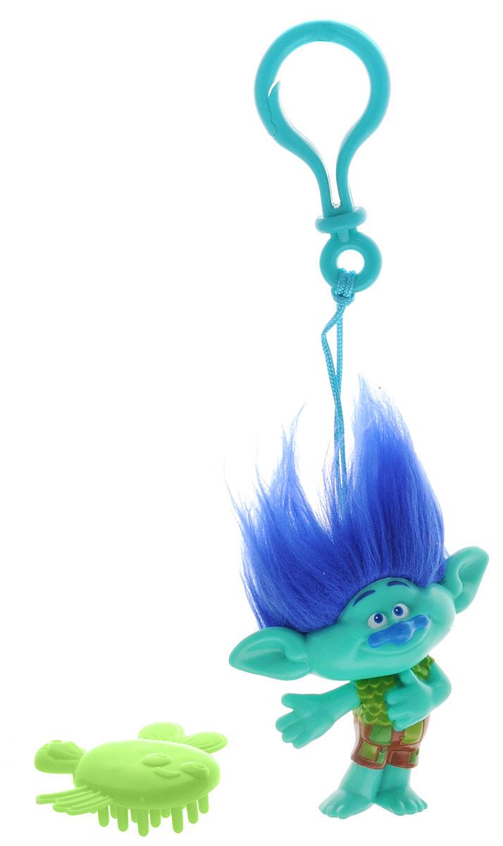 Zuru Брелок Тролль Branch цвет зеленый синий 6201 игрушка zuru капсула высотой 75 мм с фигуркой из фильма мстители 5 асс zuru