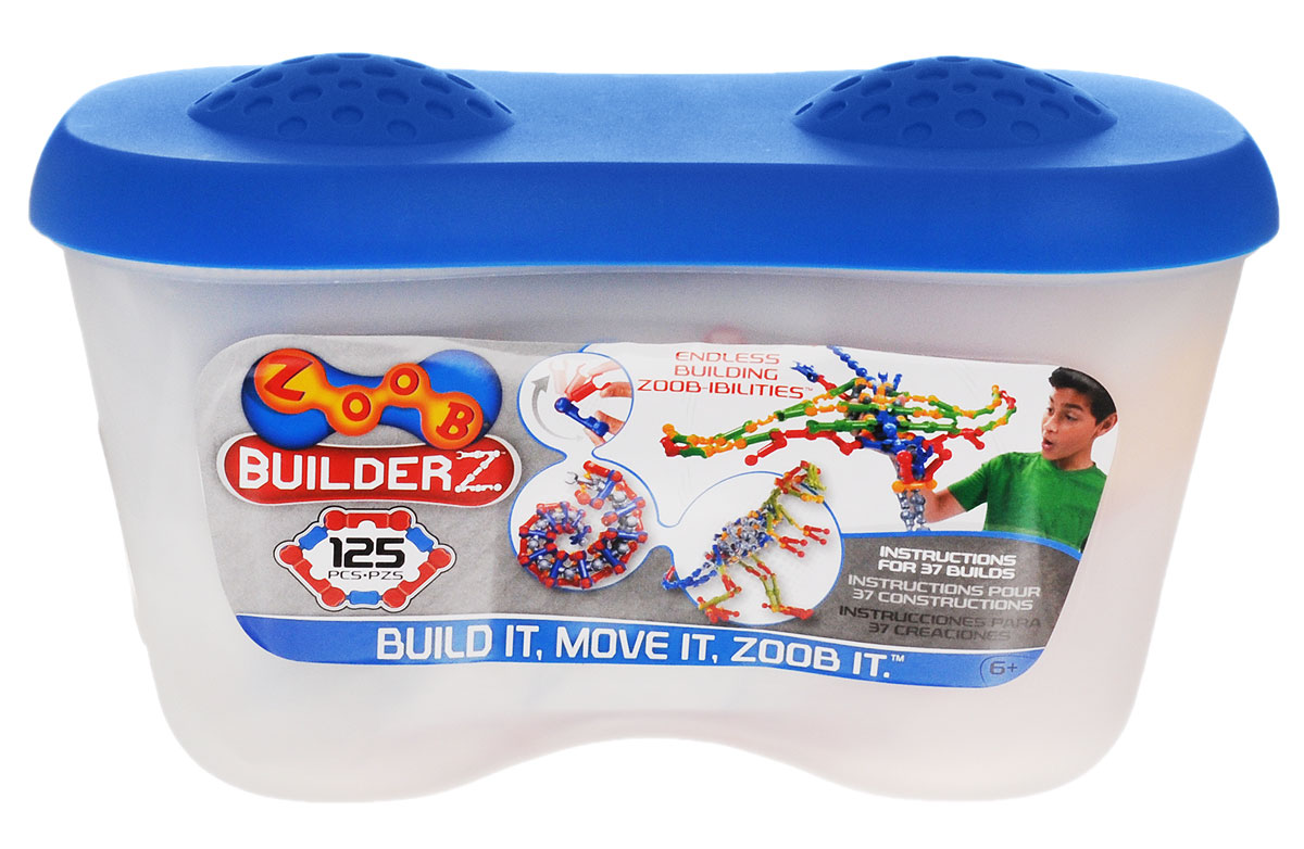 Zoob Конструктор 11125 конструкторы zoob подвижный конструктор zoob с инерционным механизмом oz12055