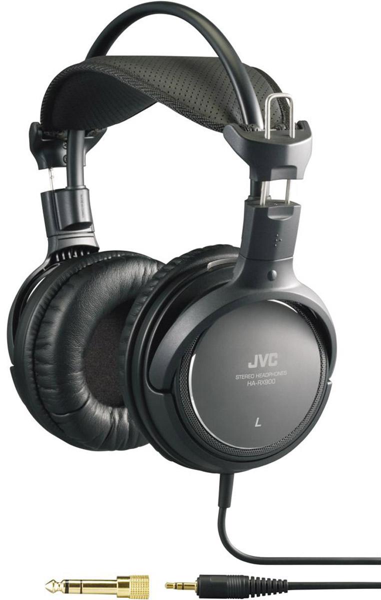 JVC HA-RX900, Black наушникиHA-RX900Полноразмерные наушники JVC HA-RX900 с высокое качество динамического звука обеспечивают идеальный комфорт. Динамики обеспечивают высококачественное воспроизведение звука благодаря 50 мм диафрагме и неодимовому магниту и акустическим линзам. Кольцевая структура портов обеспечивает высокое качество динамического звука. Структура акустических линз позволяет воспроизводить естественное звучание благодаря использованию двух специально сконструированных элементов акустических линз. Акустические линзы (расположенные напротив диафрагмы) регулируют прямой и отраженный звук благодаря немного смещенному расположению отверстий на каждой линзе. Широкая подкладка для головы и мягкие подушки для ушей обеспечивают идеальный комфорт. Медный шнур длиной 3,5 м для минимизации потерь при передаче. В комплект входит адаптер для штекера диаметром 6,3 мм