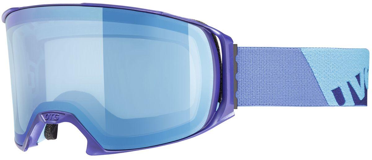 Маска горнолыжная Uvex Craxx OTG, цвет: синий1629-4026Маска для зимних видов спорта Uvex Craxx OTG предназначена для катания в облачную погоду или при искусственном освещении. Делает картинку более контрастной и четкой. 100% защита UVA, -B, -C, двойные поликарбонатные линзы, уникальное покрытие Supravision защищает от запотевания. Возможно использование поверх оптических очков. Погодные условия: Облачно, туман, искусственное освещениеЗащита от УФ: Да Поляризация: НетВентиляция: ДаПокрытие анти-фог: ДаСовместимость со шлемом: ДаСменная линза: НетФорма линзы: ЦилиндрическаяВозможность замены линзы: Да