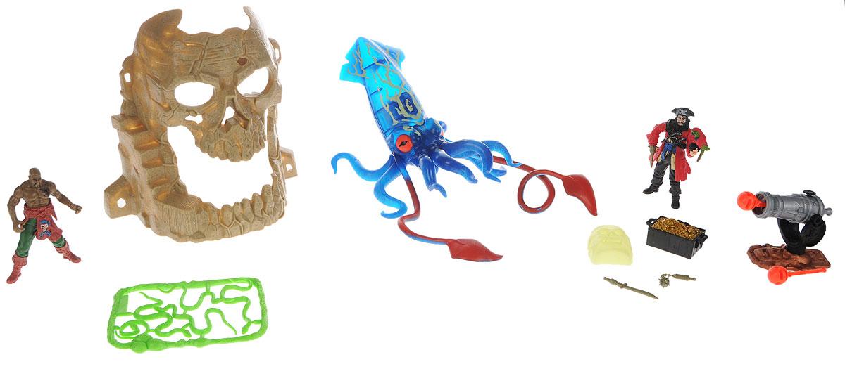 Chap Mei Игровой набор Пираты Битва с гигантским кальмаром