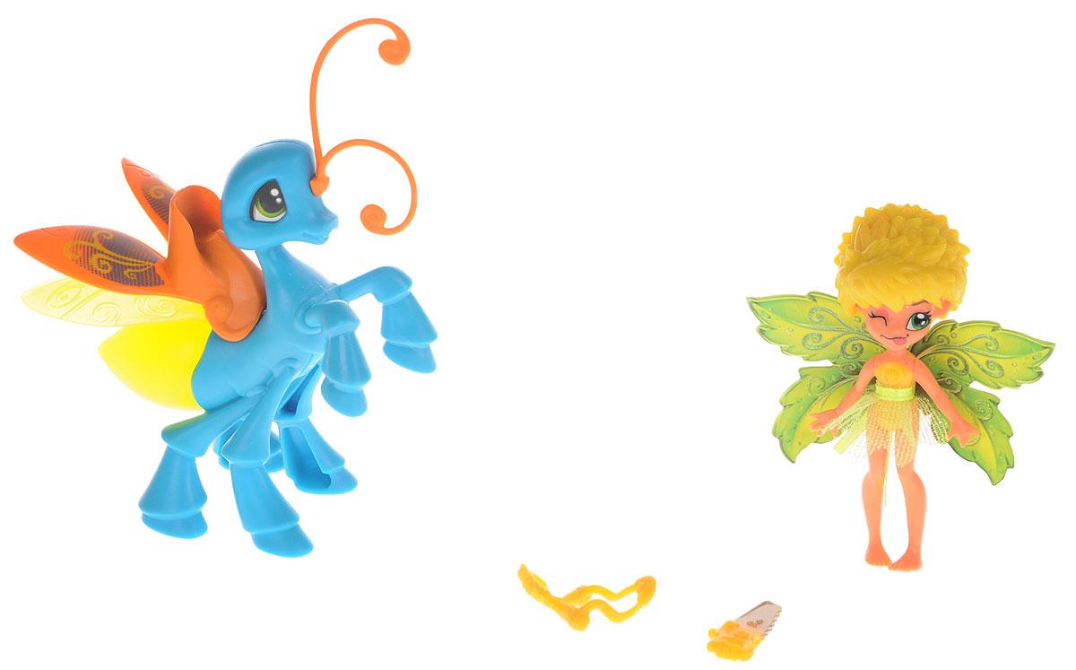 Lanard Набор фигурок Фея Данди и Светящийся Мотылек набор brix n clix фея данди и светящийся мотылек 84205 1
