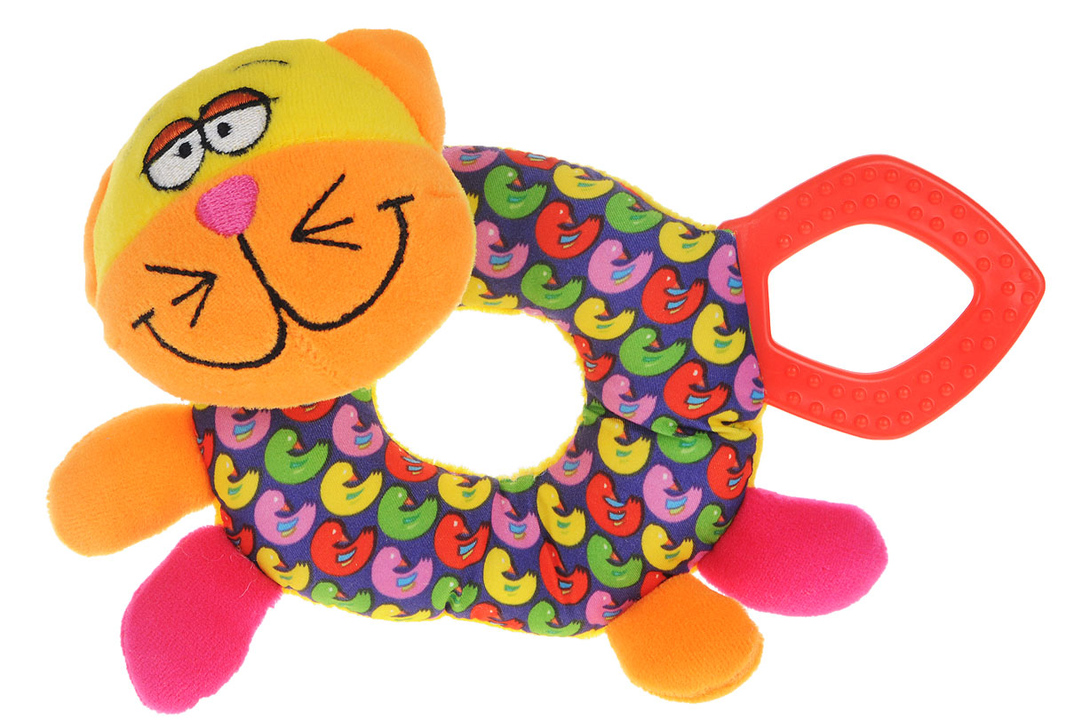 Bondibon Мягкая игрушка-погремушка Кот