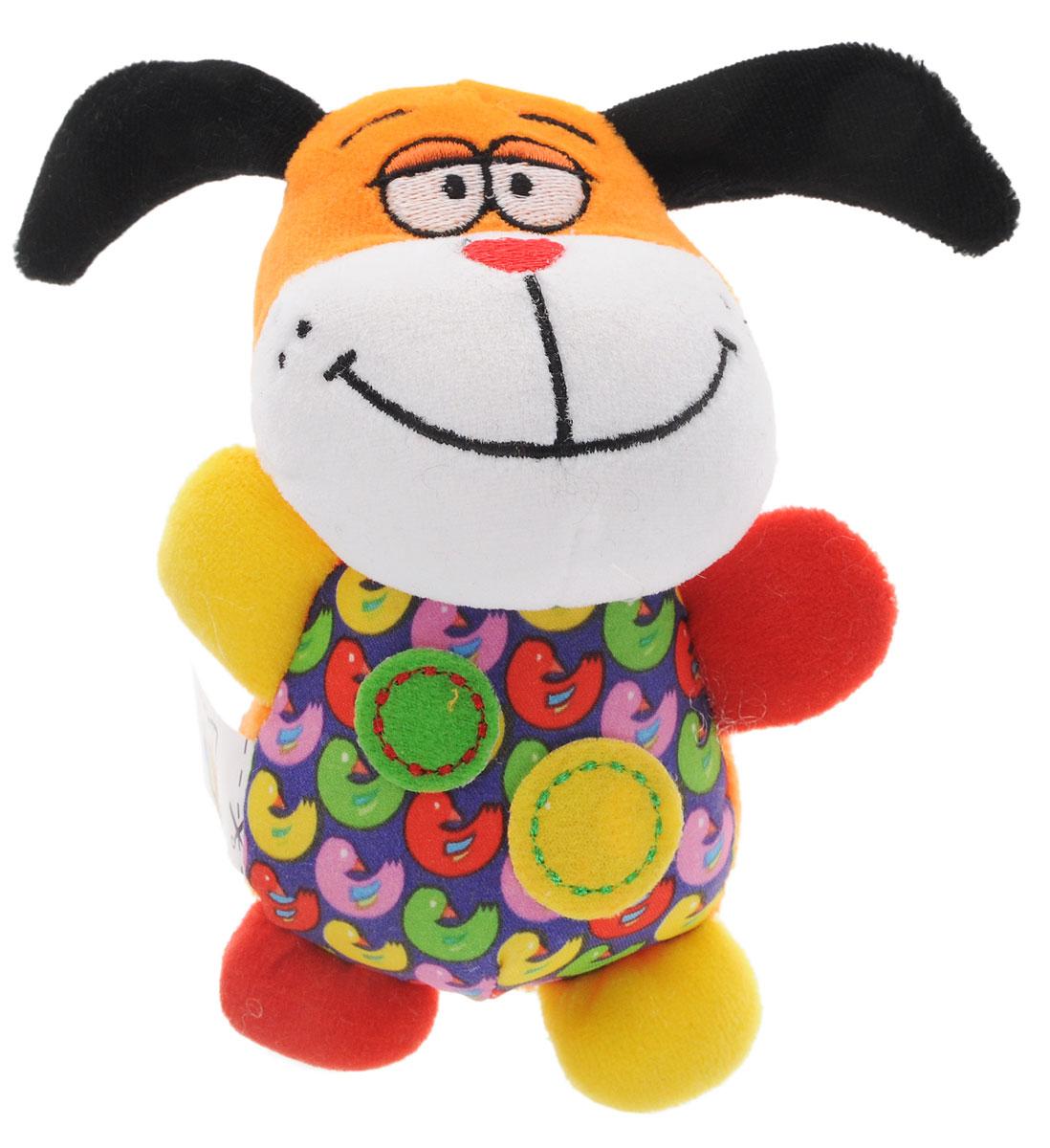 Bondibon Мягкая игрушка-погремушка Собачка маленькие собачки в отдам в дар