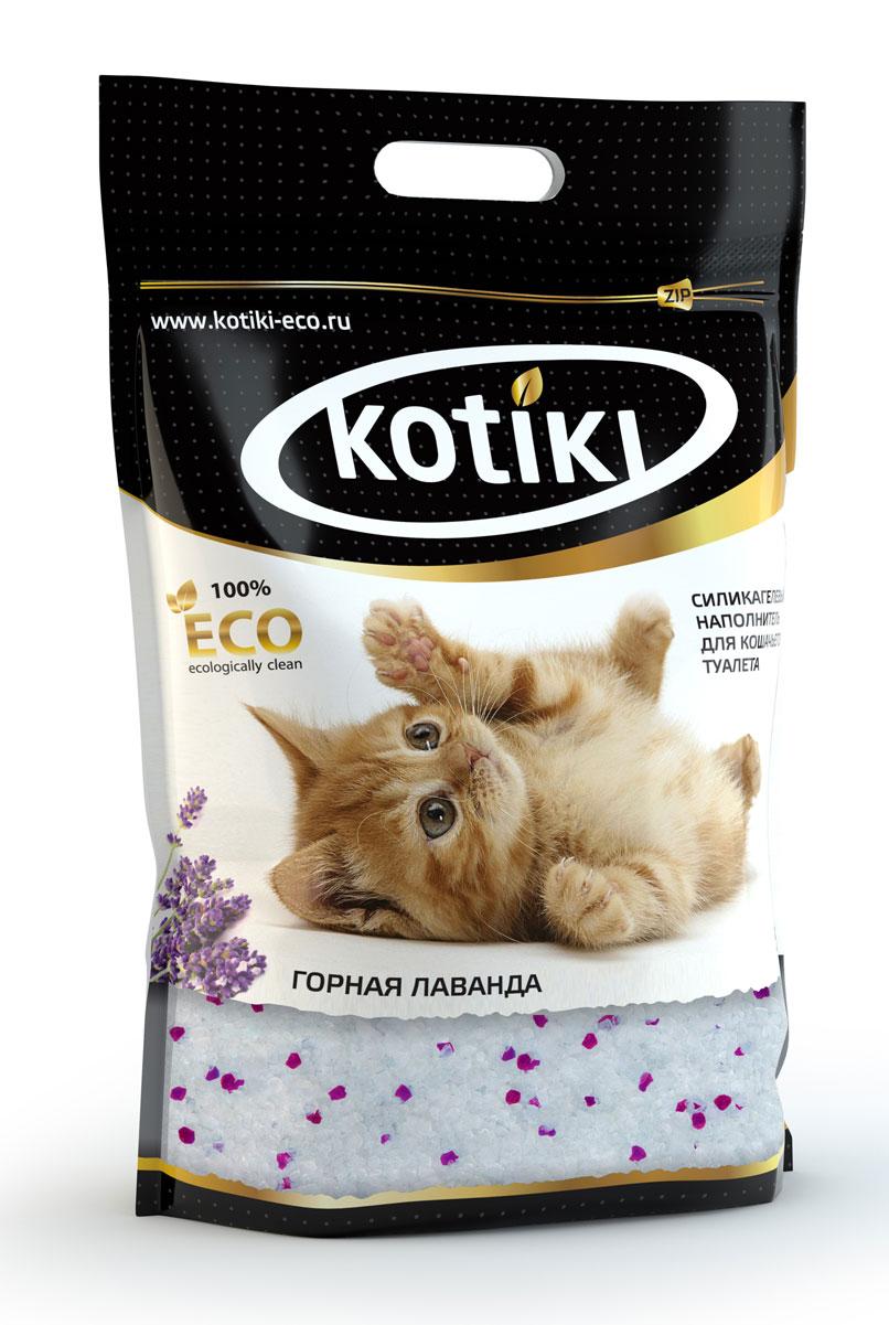 Наполнитель для кошачьего туалета Kotiki Горная лаванда, силикагелевый, 5 л00000000105Kotiki Горная лаванда - это 100% экологически чистый продукт на основе природного сырья. Абсолютно безвреден для здоровья людей, животных, окружающей среды. Наполнитель уже по достоинству оценили питомцы и их хозяева.