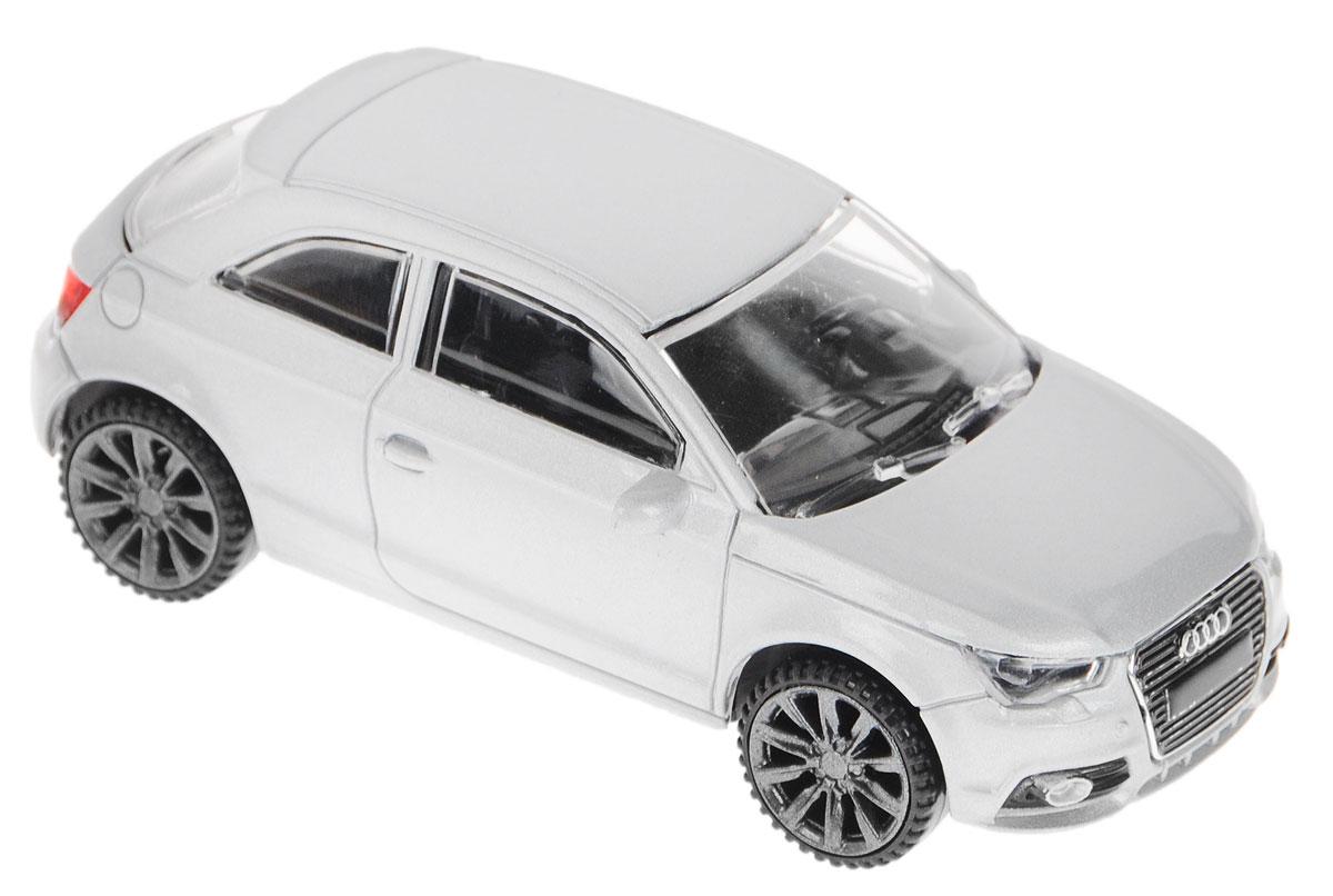 Rastar Модель автомобиля Audi A1 цвет серебристый машина на радиоуправлении rastar audi q7 1 24