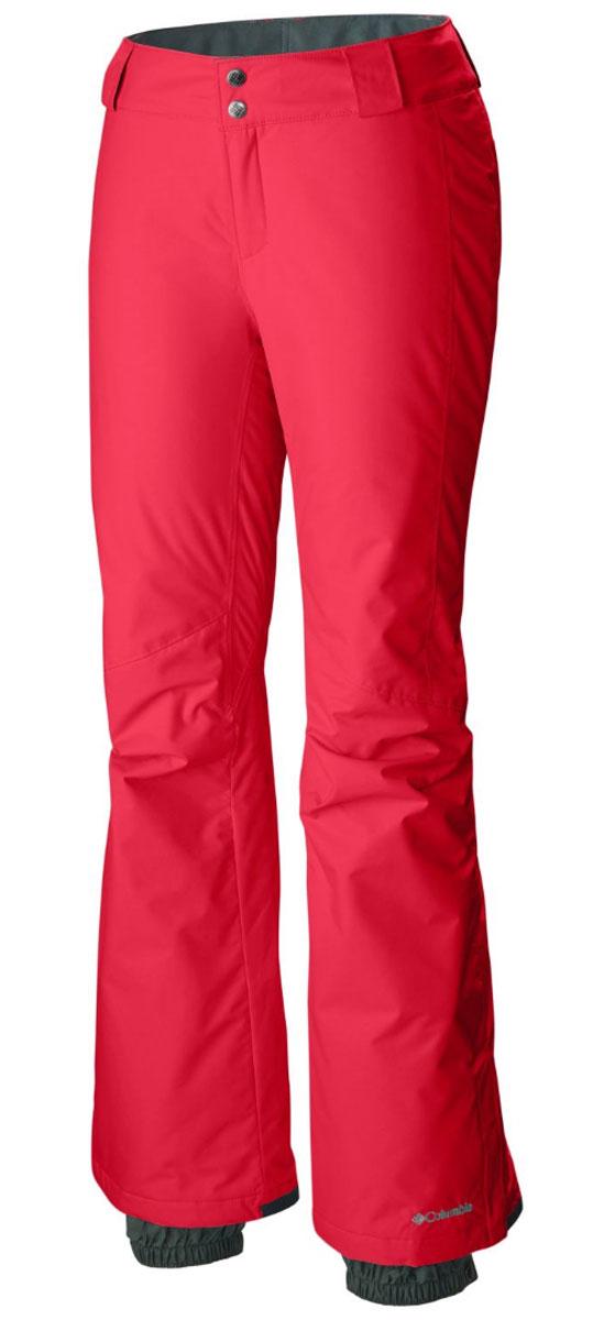 Брюки горнолыжные женские Columbia Bugaboo, цвет: красный. 1473621-653. Размер XL (50)1473621-653Женские утепленные горнолыжные брюки. Водоотталкивающая мембрана Omni-Tech и частично проклеенные швы защищают от намокания. Регулируемый пояс для комфортной посадки. Снегозащитные гетры. Артикулируемые колени для большей свободы движения. Отличная модель для катания на горных лыжах.