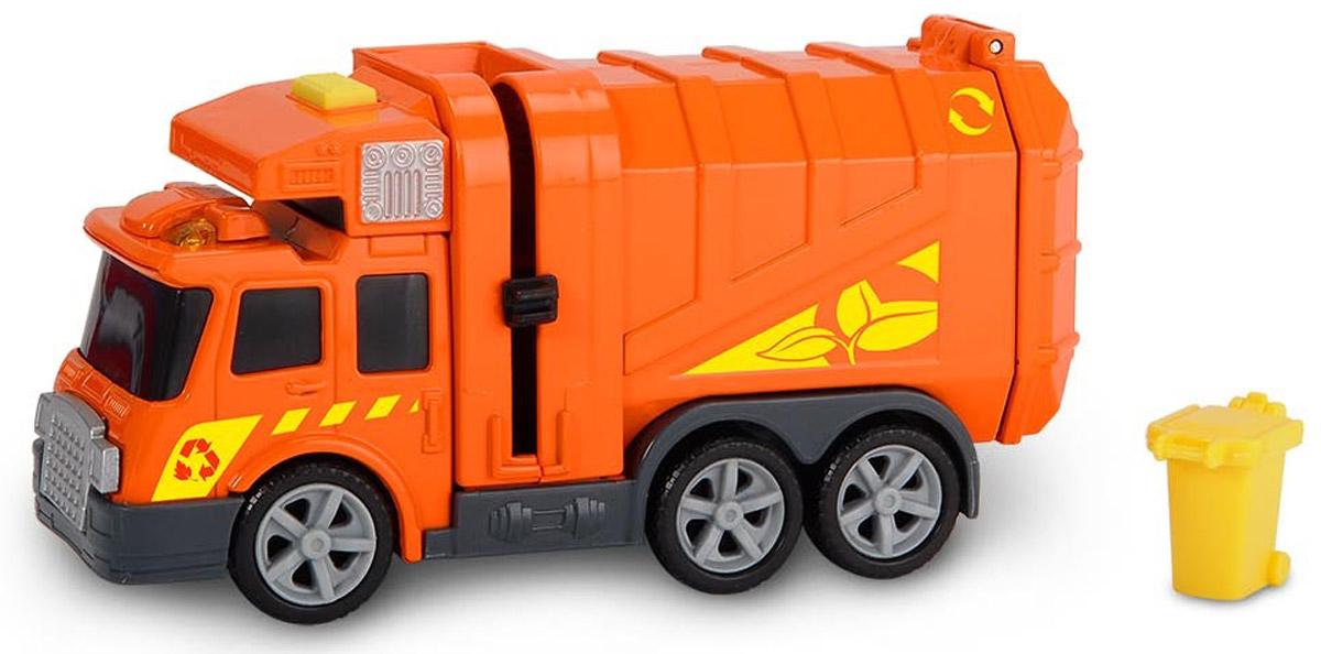 Dickie Toys Мусоровоз цвет оранжевый dickie мусоровоз 30 см