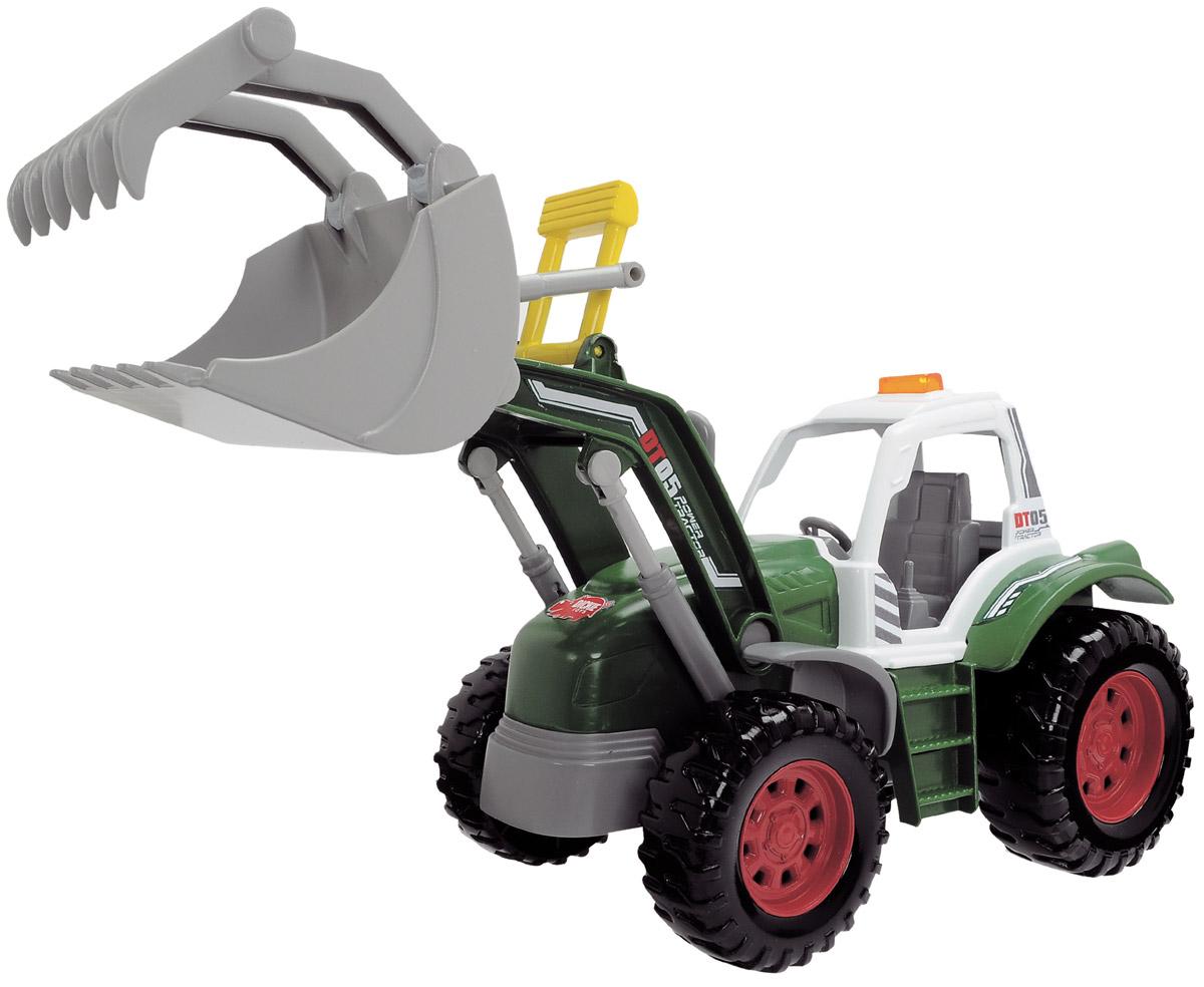 Dickie Toys Трактор с поднимающимся ковшом
