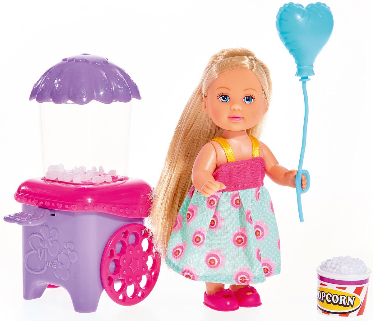 Simba Кукла Еви с попкорном simba игровой набор с мини куклой evi love fairy carriage