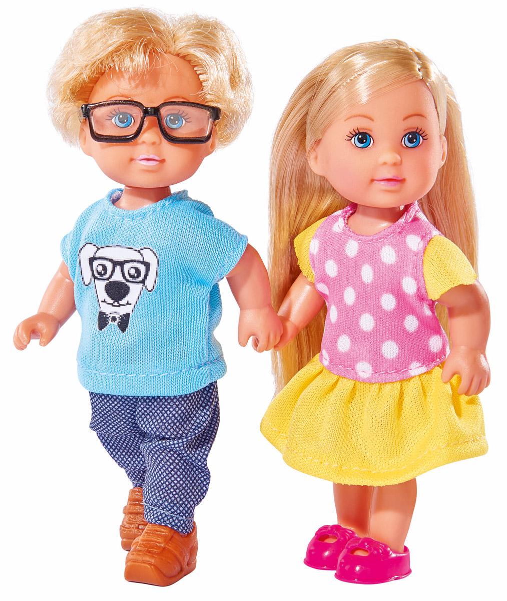 Simba Набор кукол Еви и Тимми куклы и одежда для кукол simba кукла еви и тимми на аттракционах 12 cм