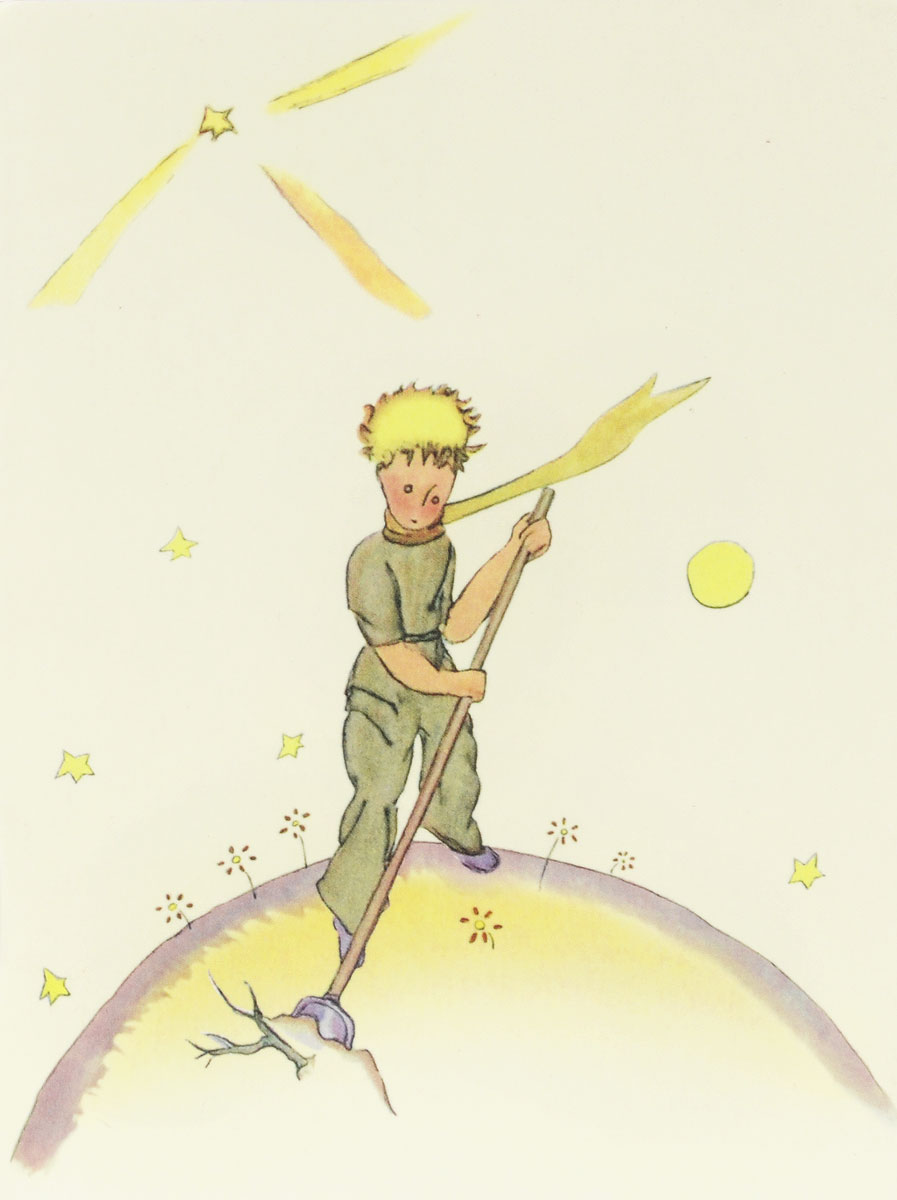 Маленький принц. Блокнот. Книга 3 терраса в сент адресс блокнот в пластиковой обложке