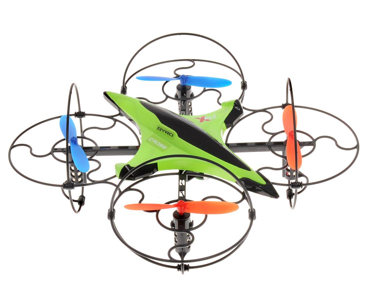 1TOY Квадрокоптер на радиоуправлении Gyro-Cross