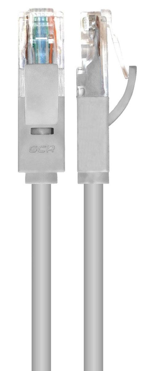 Greenconnect GCR-LNC03, Gray сетевой кабель 3 мGCR-LNC03-3.0mСетевой кабель Greenconnect GCR-LNC03 предназначен для подключения вашего ПК и других устройств с разъемом RJ-45 к широкополосному маршрутизатору.Тип оболочки: ПВХЭкранирование кабеля: UTP (Unshielded Twisted Pairs)