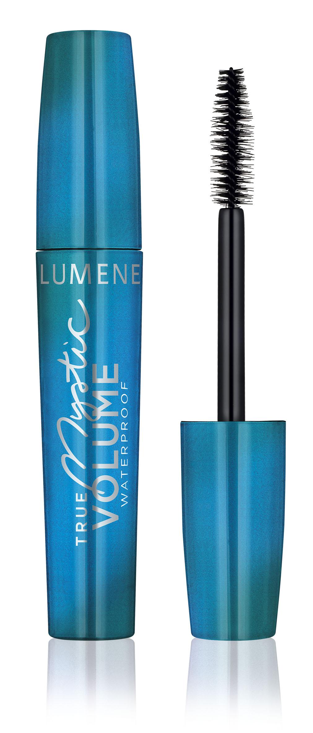 Lumene True Mystic Водостойкая объемная тушь №01 Черный, 11 мл туши lumene объемная тушь для ресниц lumene blueberry wild volume насыщенный черный 7 мл