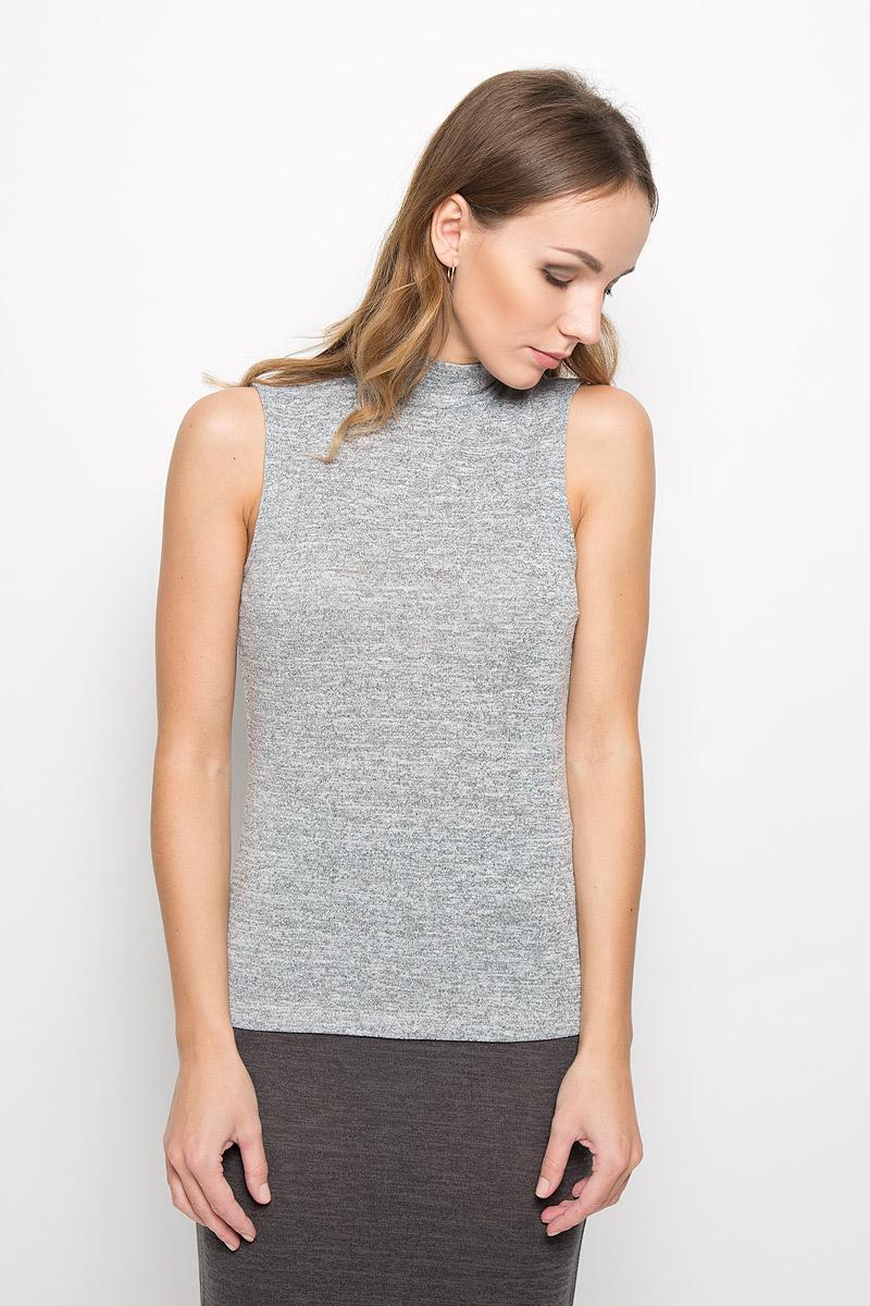 Топ женский Broadway, цвет: светло-серый меланж. 10156682. Размер M (46) пуловеры broadway пуловер