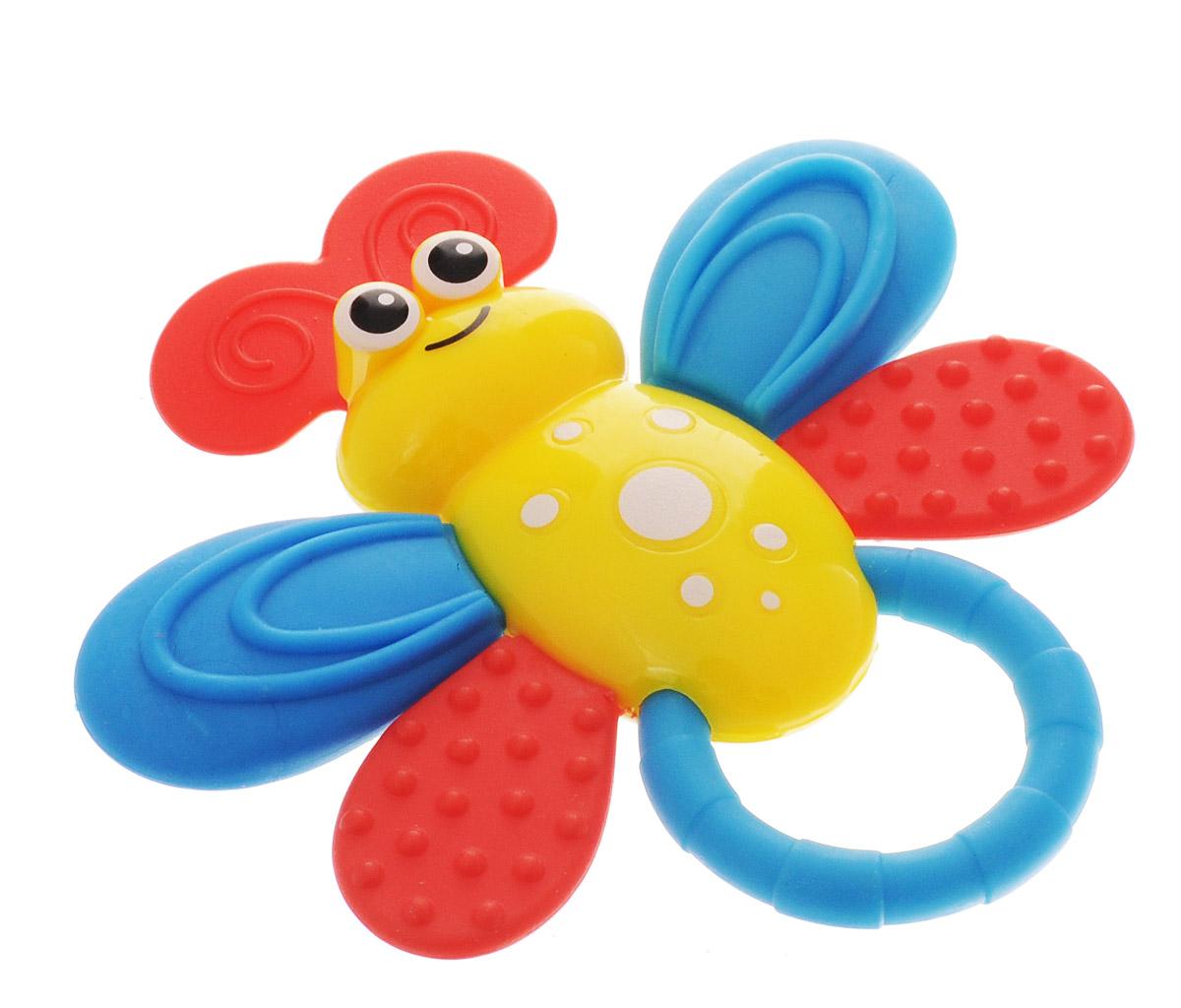 Bondibon Погремушка Пчелка цвет желтый bondibon мягкая игрушка погремушка слоник