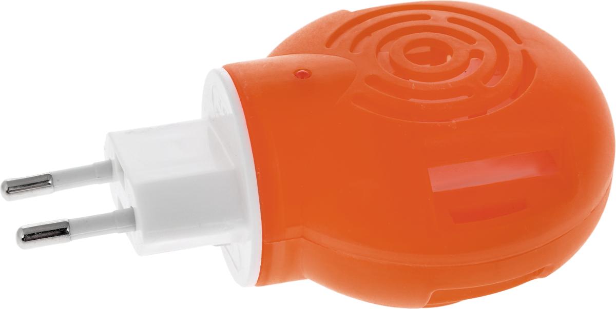 Фумигатор Argus, универсальный, с индикатором, цвет: оранжевыйСЗ.010025_оранжевыйУниверсальный фумигатор Argus используется для уничтожения летающих насекомых в помещениях, методом фумигации, то есть выделения паров инсектицидов. Фумигатор имеет поворотную вилку, позволяющую использовать даже в неудобно расположенных розетках. Изделие можно использовать как с пластинами, так и с дополнительными флаконами.