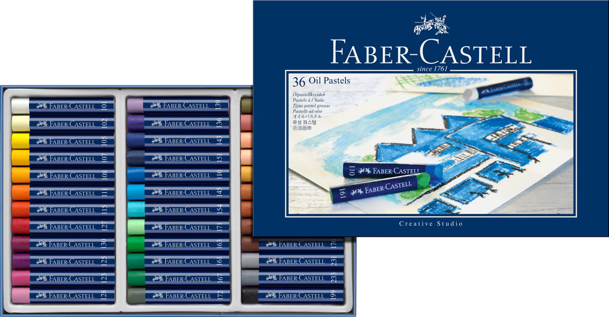 Faber-CastellМасляная пастель Studio Quality Oil Pastels 36 шт Faber-Castell