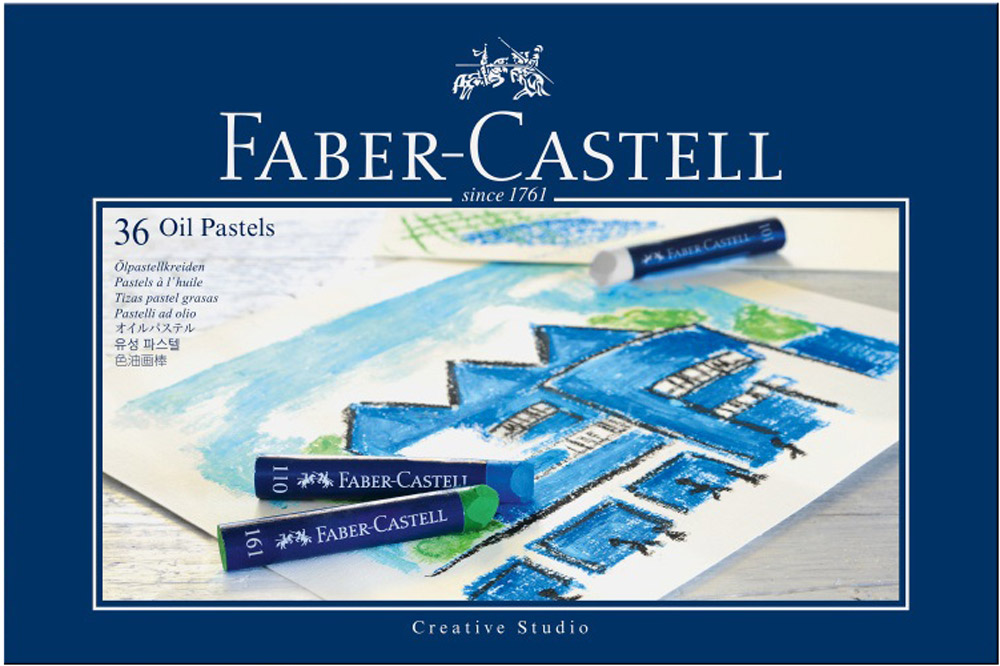 Faber-Castell Масляная пастель Studio Quality Oil Pastels 36 шт
