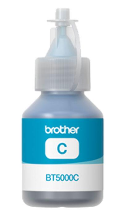 Brother BT-5000C, Cyan чернила для DCP-T300/DCP-T500W/DCP-T700WBT5000CЧернила Brother BT5000 совместимы с моделями МФУ DCP-T300 / DCP-T500W / DCP-T700W.Струйные картриджи Brother сконструированы таким образом, чтобы идеально работать с МФУ, что дает отличные результаты и экономию средств.