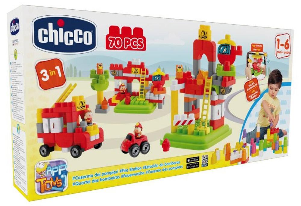 Chicco Конструктор Пожарная станция