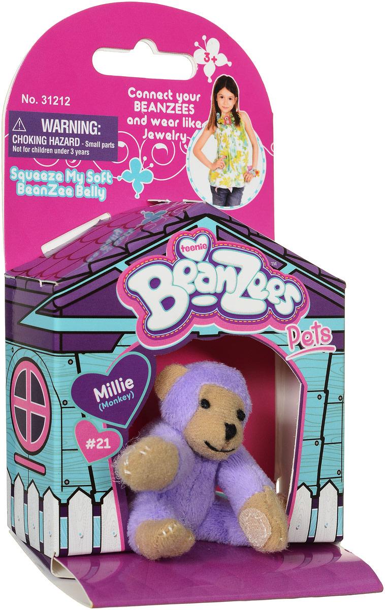 BeanzeesМягкая игрушка Обезьянка Millie 5 см Beanzees